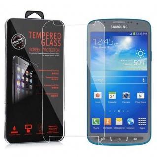 Cadorabo Panzer Folie für Samsung Galaxy S4 Active - Schutzfolie in KRISTALL KLAR - Gehärtetes (Tempered) Display-Schutzglas in 9H Härte mit 3D Touch Kompatibilität