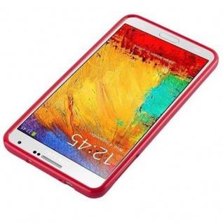 Cadorabo Hülle für Samsung Galaxy NOTE 3 in JELLY ROT ? Handyhülle aus flexiblem TPU Silikon ? Silikonhülle Schutzhülle Ultra Slim Soft Back Cover Case Bumper - Vorschau 2
