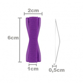Cadorabo - Finger-Halterung Sling Grip für Smartphone / Tablet / iPod / eReader Griff Henkel Sling Schlaufe Riemen in LILA - Vorschau 5