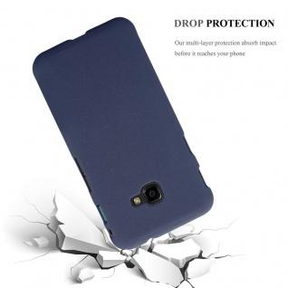 Cadorabo Hülle für Samsung Galaxy XCover 4 in FROSTY BLAU - Hardcase Handyhülle aus Plastik gegen Kratzer und Stöße - Schutzhülle Bumper Ultra Slim Back Case Hard Cover - Vorschau 3