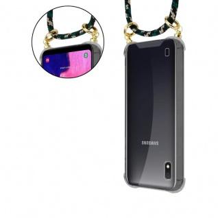 Cadorabo Handy Kette für Samsung Galaxy M10 in CAMOUFLAGE - Silikon Necklace Umhänge Hülle mit Gold Ringen, Kordel Band Schnur und abnehmbarem Etui ? Schutzhülle - Vorschau 5