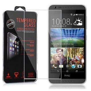 Cadorabo Panzer Folie für HTC Desire 620 - Schutzfolie in KRISTALL KLAR - Gehärtetes (Tempered) Display-Schutzglas in 9H Härte mit 3D Touch Kompatibilität