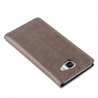 Cadorabo Hülle für Samsung Galaxy A5 2016 in KAFFEE BRAUN - Handyhülle mit Magnetverschluss, Standfunktion und Kartenfach - Case Cover Schutzhülle Etui Tasche Book Klapp Style - Vorschau 5