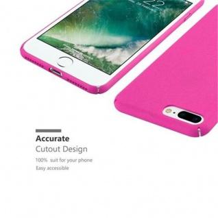 Cadorabo Hülle für Apple iPhone 8 PLUS / iPhone 7 PLUS / iPhone 7S PLUS in FROSTY PINK - Hardcase Handyhülle aus Plastik gegen Kratzer und Stöße - Schutzhülle Bumper Ultra Slim Back Case Hard Cover - Vorschau 4