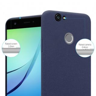Cadorabo Hülle für Huawei Nova in FROSTY BLAU - Hardcase Handyhülle aus Plastik gegen Kratzer und Stöße - Schutzhülle Bumper Ultra Slim Back Case Hard Cover - Vorschau 2