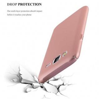 Cadorabo Hülle für Samsung Galaxy J5 2015 in METALL ROSE GOLD ? Hardcase Handyhülle aus Plastik gegen Kratzer und Stöße ? Schutzhülle Bumper Ultra Slim Back Case Hard Cover - Vorschau 5