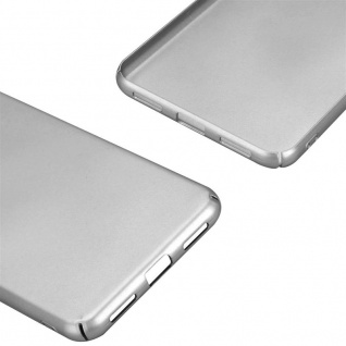 Cadorabo Hülle für Huawei P8 LITE 2017 in METALL SILBER ? Hardcase Handyhülle aus Plastik gegen Kratzer und Stöße ? Schutzhülle Bumper Ultra Slim Back Case Hard Cover - Vorschau 5