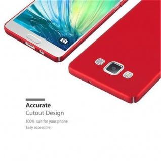 Cadorabo Hülle für Samsung Galaxy A5 2015 in METALL ROT ? Hardcase Handyhülle aus Plastik gegen Kratzer und Stöße ? Schutzhülle Bumper Ultra Slim Back Case Hard Cover - Vorschau 3