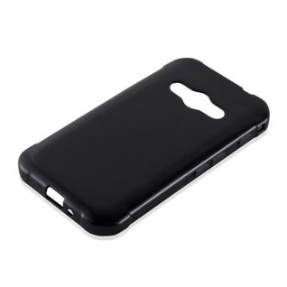 Cadorabo Hülle für Samsung Galaxy XCOVER 3 in SCHWARZ - Handyhülle aus flexiblem TPU Silikon - Silikonhülle Schutzhülle Ultra Slim Soft Back Cover Case Bumper - Vorschau 2