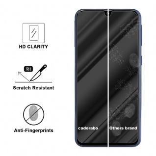 Cadorabo Panzer Folie für Samsung Galaxy A40 - Schutzfolie in KRISTALL KLAR - Gehärtetes (Tempered) Display-Schutzglas in 9H Härte mit 3D Touch Kompatibilität - Vorschau 3