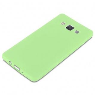 Cadorabo Hülle für Samsung Galaxy A5 2015 in CANDY PASTELL GRÜN - Handyhülle aus flexiblem TPU Silikon - Silikonhülle Schutzhülle Ultra Slim Soft Back Cover Case Bumper - Vorschau 4