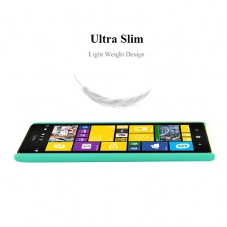 Cadorabo Hülle für Nokia Lumia 1520 in FROSTY GRÜN - Hardcase Handyhülle aus Plastik gegen Kratzer und Stöße - Schutzhülle Bumper Ultra Slim Back Case Hard Cover - Vorschau 2