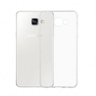 Cadorabo Hülle für Samsung Galaxy A5 2016 - Hülle in TRANSPARENT WEIß ? Handyhülle aus TPU Silikon im Strass Design - Silikonhülle Schutzhülle Ultra Slim Soft Back Cover Case Bumper - Vorschau 3
