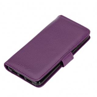 Cadorabo Hülle für Huawei P20 PRO in BORDEAUX LILA ? Handyhülle mit Magnetverschluss und 3 Kartenfächern ? Case Cover Schutzhülle Etui Tasche Book Klapp Style - Vorschau 4