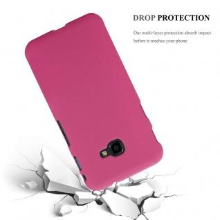 Cadorabo Hülle für Samsung Galaxy XCover 4 in FROSTY PINK - Hardcase Handyhülle aus Plastik gegen Kratzer und Stöße - Schutzhülle Bumper Ultra Slim Back Case Hard Cover - Vorschau 3