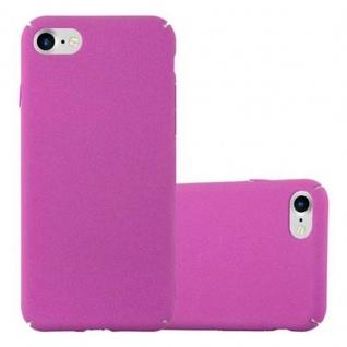 Cadorabo Hülle für Apple iPhone 7 / iPhone 7S / iPhone 8 in FROSTY PINK - Hardcase Handyhülle aus Plastik gegen Kratzer und Stöße - Schutzhülle Bumper Ultra Slim Back Case Hard Cover