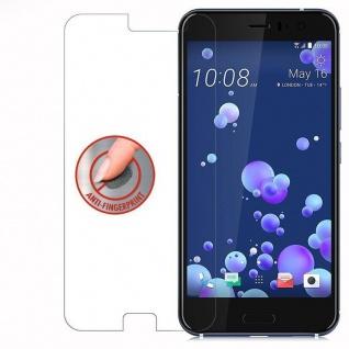 Cadorabo Panzer Folie für HTC OCEAN / U11 - Schutzfolie in KRISTALL KLAR - Gehärtetes (Tempered) Display-Schutzglas in 9H Härte mit 3D Touch Kompatibilität - Vorschau 4
