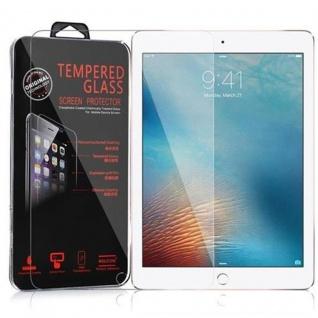 Cadorabo Panzerglas für Apple iPad PRO (9, 7 Zoll) - Schutzfolie in KRISTALL KLAR ? Gehärtetes (Tempered) Display-Schutzglas in 9H Härte mit 3D Touch Kompatibilität