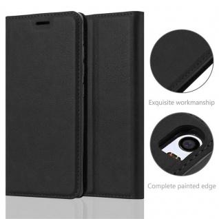 Cadorabo Hülle für Xiaomi Mi 5 in NACHT SCHWARZ - Handyhülle mit Magnetverschluss, Standfunktion und Kartenfach - Case Cover Schutzhülle Etui Tasche Book Klapp Style - Vorschau 2