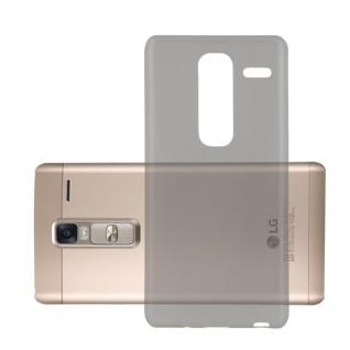 Cadorabo Hülle für LG CLASS in TRANSPARENT SCHWARZ - Handyhülle aus flexiblem TPU Silikon - Silikonhülle Schutzhülle Ultra Slim Soft Back Cover Case Bumper