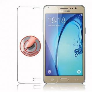 Cadorabo Panzer Folie für Samsung Galaxy On5 - Schutzfolie in KRISTALL KLAR - Gehärtetes (Tempered) Display-Schutzglas in 9H Härte mit 3D Touch Kompatibilität - Vorschau 4