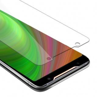 Cadorabo Panzer Folie für Asus ROG Phone 2 - Schutzfolie in KRISTALL KLAR - Gehärtetes (Tempered) Display-Schutzglas in 9H Härte mit 3D Touch Kompatibilität