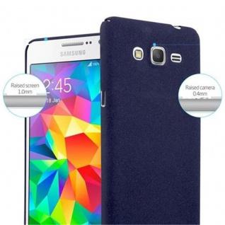 Cadorabo Hülle für Samsung Galaxy GRAND PRIME in FROSTY BLAU - Hardcase Handyhülle aus Plastik gegen Kratzer und Stöße - Schutzhülle Bumper Ultra Slim Back Case Hard Cover - Vorschau 5