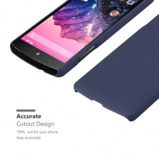 Cadorabo Hülle für LG Nexus 5 in FROSTY BLAU - Hardcase Handyhülle aus Plastik gegen Kratzer und Stöße - Schutzhülle Bumper Ultra Slim Back Case Hard Cover - Vorschau 5