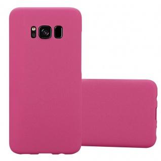 Cadorabo Hülle für Samsung Galaxy S8 PLUS in FROSTY PINK - Hardcase Handyhülle aus Plastik gegen Kratzer und Stöße - Schutzhülle Bumper Ultra Slim Back Case Hard Cover