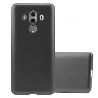 Cadorabo Hülle für Huawei MATE 10 PRO in METALLIC GRAU - Handyhülle aus flexiblem TPU Silikon - Silikonhülle Schutzhülle Ultra Slim Soft Back Cover Case Bumper