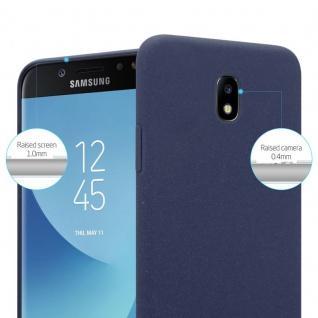 Cadorabo Hülle für Samsung Galaxy J5 2017 in FROSTY BLAU - Hardcase Handyhülle aus Plastik gegen Kratzer und Stöße - Schutzhülle Bumper Ultra Slim Back Case Hard Cover - Vorschau 2