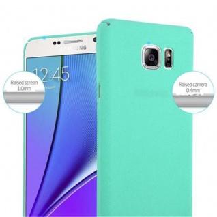 Cadorabo Hülle für Samsung Galaxy NOTE 5 in FROSTY GRÜN - Hardcase Handyhülle aus Plastik gegen Kratzer und Stöße - Schutzhülle Bumper Ultra Slim Back Case Hard Cover - Vorschau 5