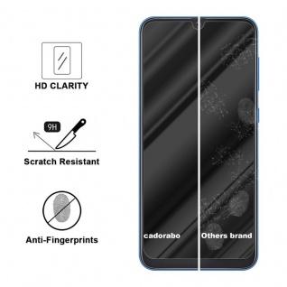 Cadorabo Panzer Folie für Samsung Galaxy A50 - Schutzfolie in KRISTALL KLAR - Gehärtetes (Tempered) Display-Schutzglas in 9H Härte mit 3D Touch Kompatibilität - Vorschau 3
