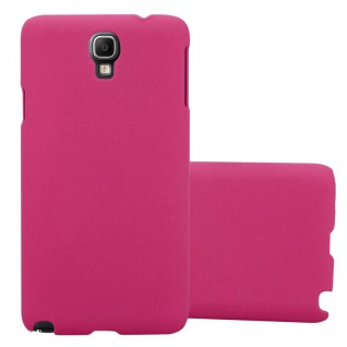 Cadorabo Hülle für Samsung Galaxy NOTE 3 NEO in FROSTY PINK - Hardcase Handyhülle aus Plastik gegen Kratzer und Stöße - Schutzhülle Bumper Ultra Slim Back Case Hard Cover