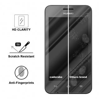 Cadorabo Panzer Folie für Huawei Y330 - Schutzfolie in KRISTALL KLAR ? Gehärtetes (Tempered) Display-Schutzglas in 9H Härte mit 3D Touch Kompatibilität - Vorschau 3
