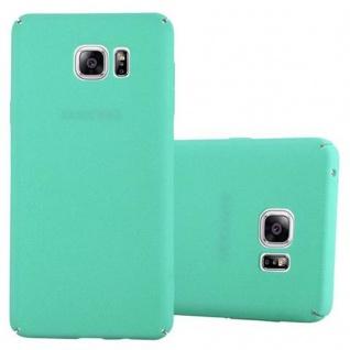 Cadorabo Hülle für Samsung Galaxy NOTE 5 in FROSTY GRÜN - Hardcase Handyhülle aus Plastik gegen Kratzer und Stöße - Schutzhülle Bumper Ultra Slim Back Case Hard Cover
