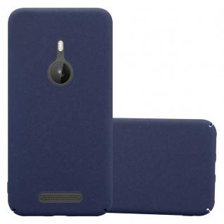 Cadorabo Hülle für Nokia Lumia 925 in FROSTY BLAU - Hardcase Handyhülle aus Plastik gegen Kratzer und Stöße - Schutzhülle Bumper Ultra Slim Back Case Hard Cover