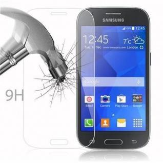 Cadorabo Panzer Folie für Samsung Galaxy ACE STYLE LTE - Schutzfolie in KRISTALL KLAR - Gehärtetes (Tempered) Display-Schutzglas in 9H Härte mit 3D Touch Kompatibilität - Vorschau 3