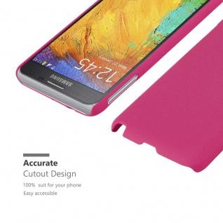 Cadorabo Hülle für Samsung Galaxy NOTE 3 NEO in FROSTY PINK - Hardcase Handyhülle aus Plastik gegen Kratzer und Stöße - Schutzhülle Bumper Ultra Slim Back Case Hard Cover - Vorschau 5
