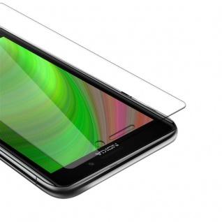 Cadorabo Panzer Folie für Nokia Lumia 925 Schutzfolie in KRISTALL KLAR Gehärtetes (Tempered) Display-Schutzglas in 9H Härte mit 3D Touch Kompatibilität