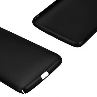 Cadorabo Hülle für Motorola MOTO G5 in METALL SCHWARZ - Hardcase Handyhülle aus Plastik gegen Kratzer und Stöße - Schutzhülle Bumper Ultra Slim Back Case Hard Cover - Vorschau 5