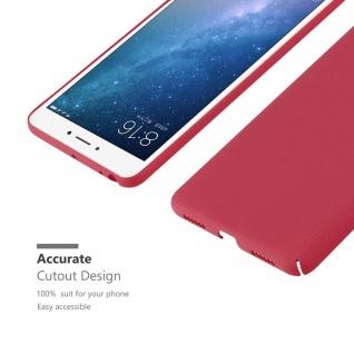 Cadorabo Hülle für Xiaomi Mi Max 2 in FROSTY ROT - Hardcase Handyhülle aus Plastik gegen Kratzer und Stöße - Schutzhülle Bumper Ultra Slim Back Case Hard Cover - Vorschau 5