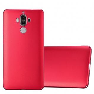 Cadorabo Hülle für Huawei MATE 9 in METALL ROT - Hardcase Handyhülle aus Plastik gegen Kratzer und Stöße - Schutzhülle Bumper Ultra Slim Back Case Hard Cover