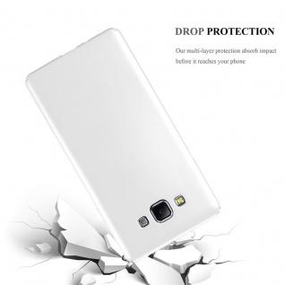 Cadorabo Hülle für Samsung Galaxy A7 2015 in METALL SILBER ? Hardcase Handyhülle aus Plastik gegen Kratzer und Stöße ? Schutzhülle Bumper Ultra Slim Back Case Hard Cover - Vorschau 3