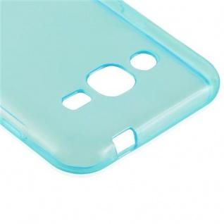 Cadorabo Hülle für Samsung Galaxy J2 2015 in TRANSPARENT BLAU - Handyhülle aus flexiblem TPU Silikon - Silikonhülle Schutzhülle Ultra Slim Soft Back Cover Case Bumper - Vorschau 4