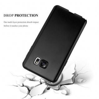 Cadorabo Hülle für Samsung Galaxy NOTE 5 in METALLIC SCHWARZ - Handyhülle aus flexiblem TPU Silikon - Silikonhülle Schutzhülle Ultra Slim Soft Back Cover Case Bumper - Vorschau 4
