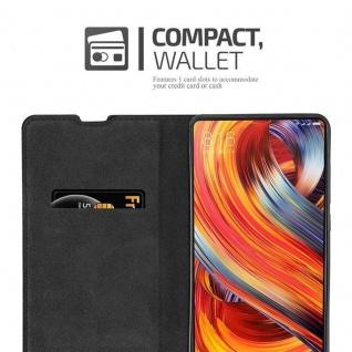 Cadorabo Hülle für Xiaomi Mi MIX 2 in APFEL ROT - Handyhülle mit Magnetverschluss, Standfunktion und Kartenfach - Case Cover Schutzhülle Etui Tasche Book Klapp Style - Vorschau 5