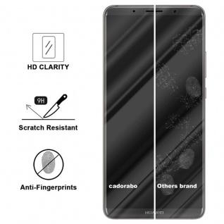 Cadorabo Panzer Folie für Huawei MATE 10 PRO - Schutzfolie in KRISTALL KLAR - Gehärtetes (Tempered) Display-Schutzglas in 9H Härte mit 3D Touch Kompatibilität - Vorschau 3