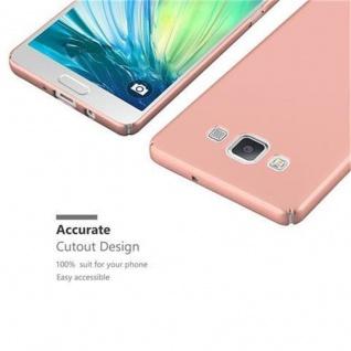 Cadorabo Hülle für Samsung Galaxy A5 2015 in METALL ROSE GOLD ? Hardcase Handyhülle aus Plastik gegen Kratzer und Stöße ? Schutzhülle Bumper Ultra Slim Back Case Hard Cover - Vorschau 3