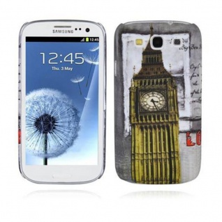 Cadorabo - Hard Cover für Samsung Galaxy S3 / S3 NEO - Case Cover Schutzhülle Bumper im Design: LONDON - BIG BEN